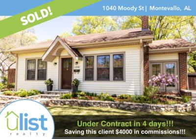 1040 Moody Street  |  Montevallo, AL